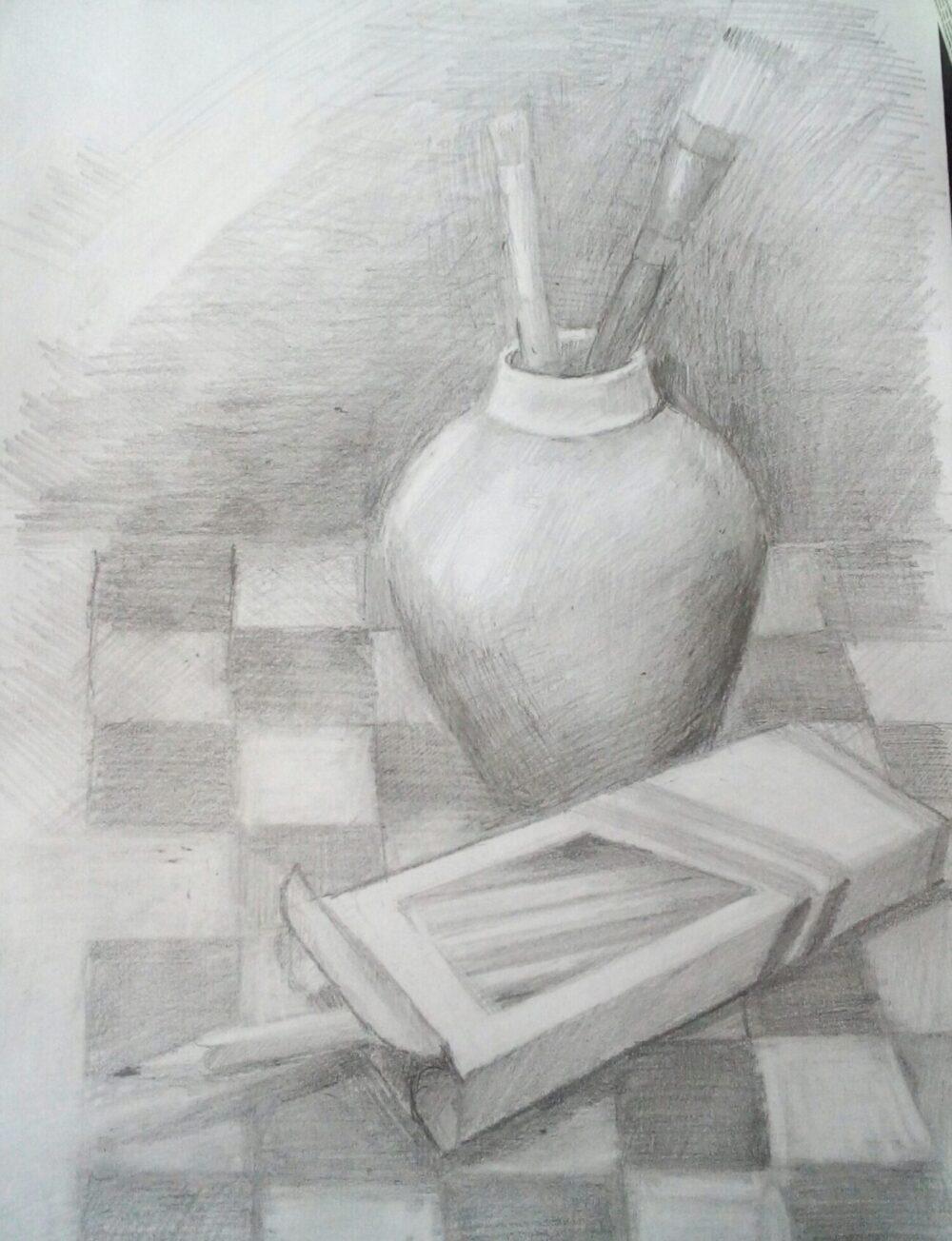 """Drawing"" Class with Bozena Janiszweski 11/15/20"
