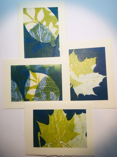 """Print Making"" Workshop with Carol Mainardi 11/19/20"