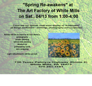"""Spring Re-awakens"" at The Art Factory!"