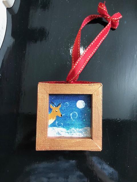 """Paint & Sip – Ornaments"" Workshop with Arielle Sekula 12/04/20"