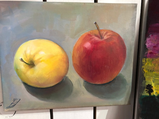 """Oil Painting"" Class with Bozena Janiszweski 09/25/21"