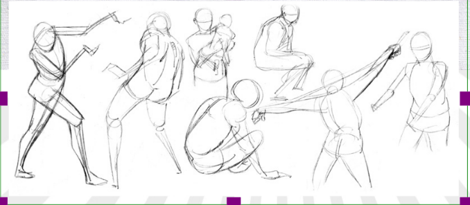 """Dynamic Gesture Drawing"" with Arielle Sekula 08/28/21"