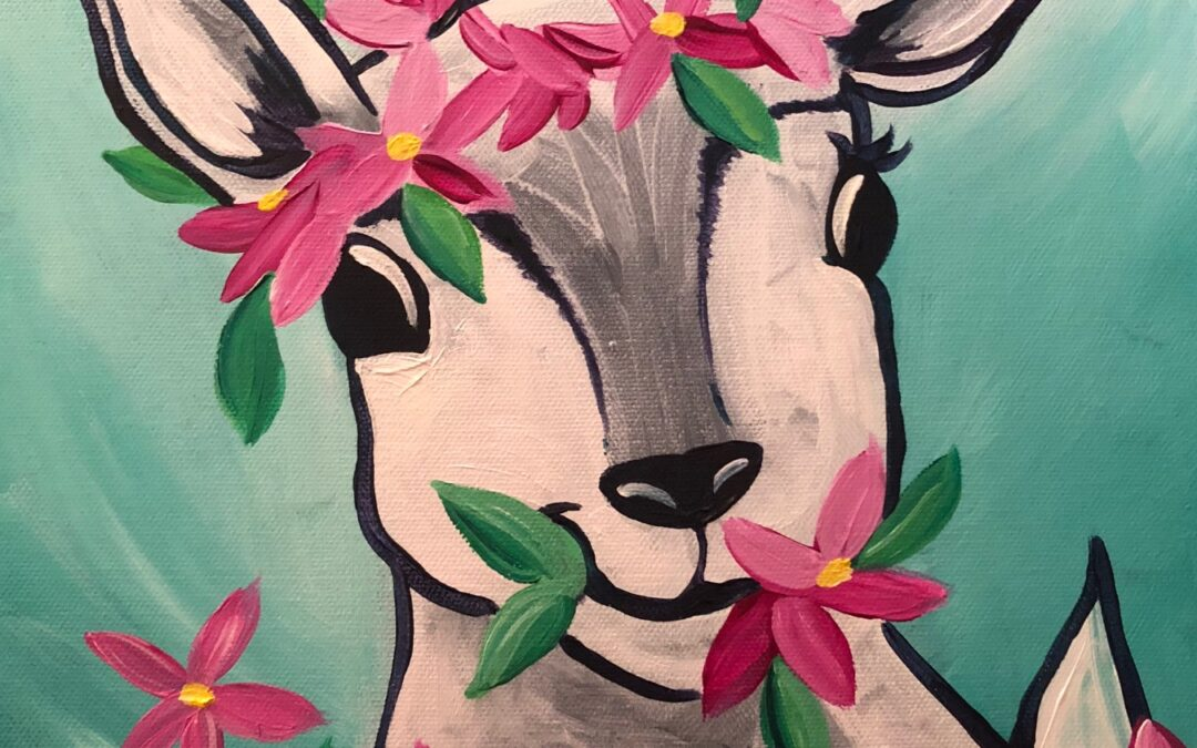 """Paint and Sip ~ goats"" with Arielle Sekula 05/01/21"