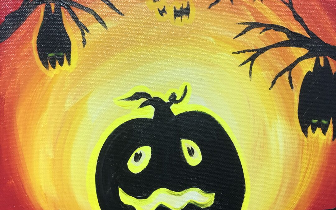 """""""Paint and Sip"""" – Magical Pumpkins with Arielle Sekula – 10/15"""