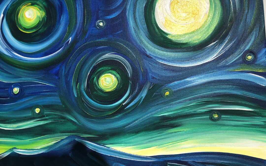 """""""Paint and Sip"""" – VanGogh style with Arielle Sekula – 03/11"""