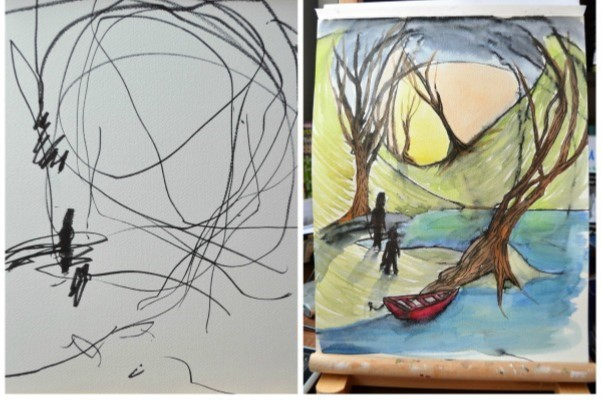 """""""From Scribble to Form"""" Workshop with Brian Tresca – 10/02"""