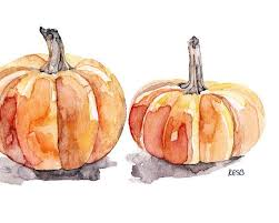 """""""Watercolor and Graphite"""" Class – Fall Pumpkins with Dawn Marie Dillon – 11/14"""